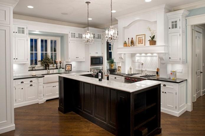 Какие бывают стили кухни: фото, описание и особенности - 51