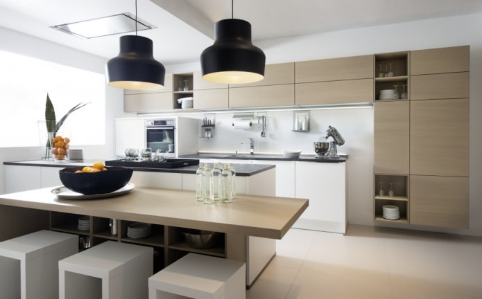 Какие бывают стили кухни: фото, описание и особенности - 59
