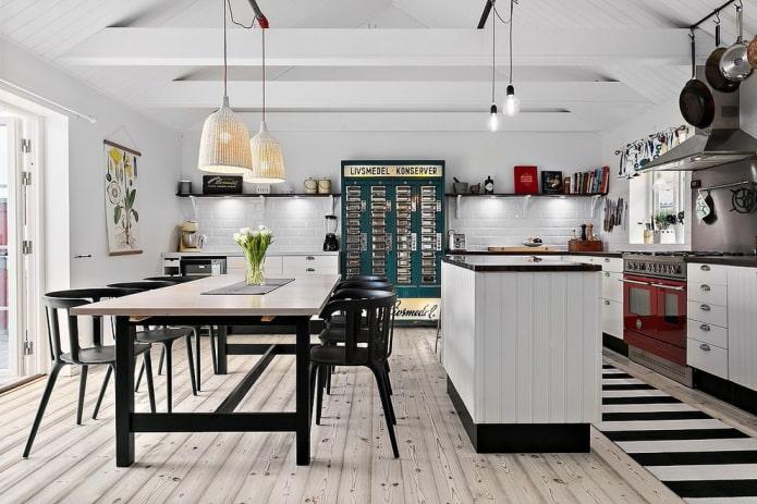 Какие бывают стили кухни: фото, описание и особенности - 71
