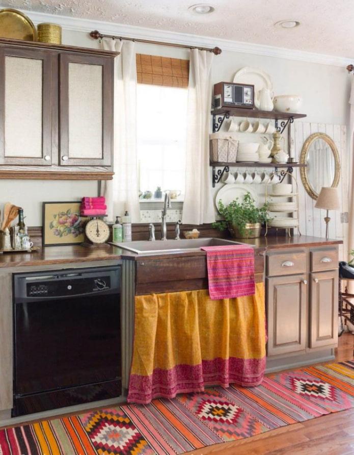 Какие бывают стили кухни: фото, описание и особенности - 78