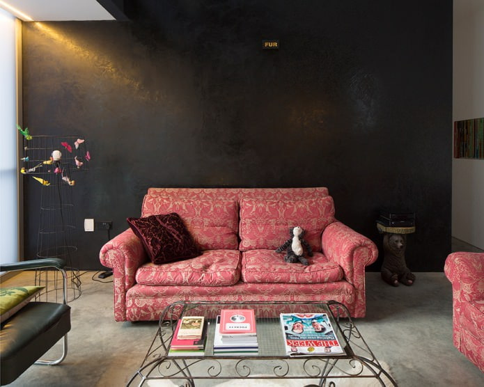 узоры на обивке дивана
