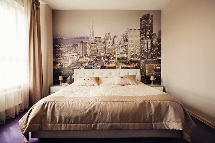 маленькая спальня в современном стиле