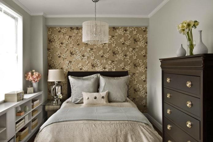 Как выбрать обои для маленькой комнаты: лучшие идеи, 60 фото в интерьере