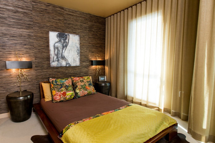 Этно-стиль в спальне