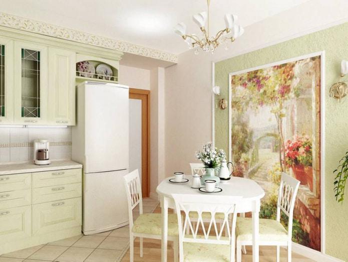 Прованс в кухне