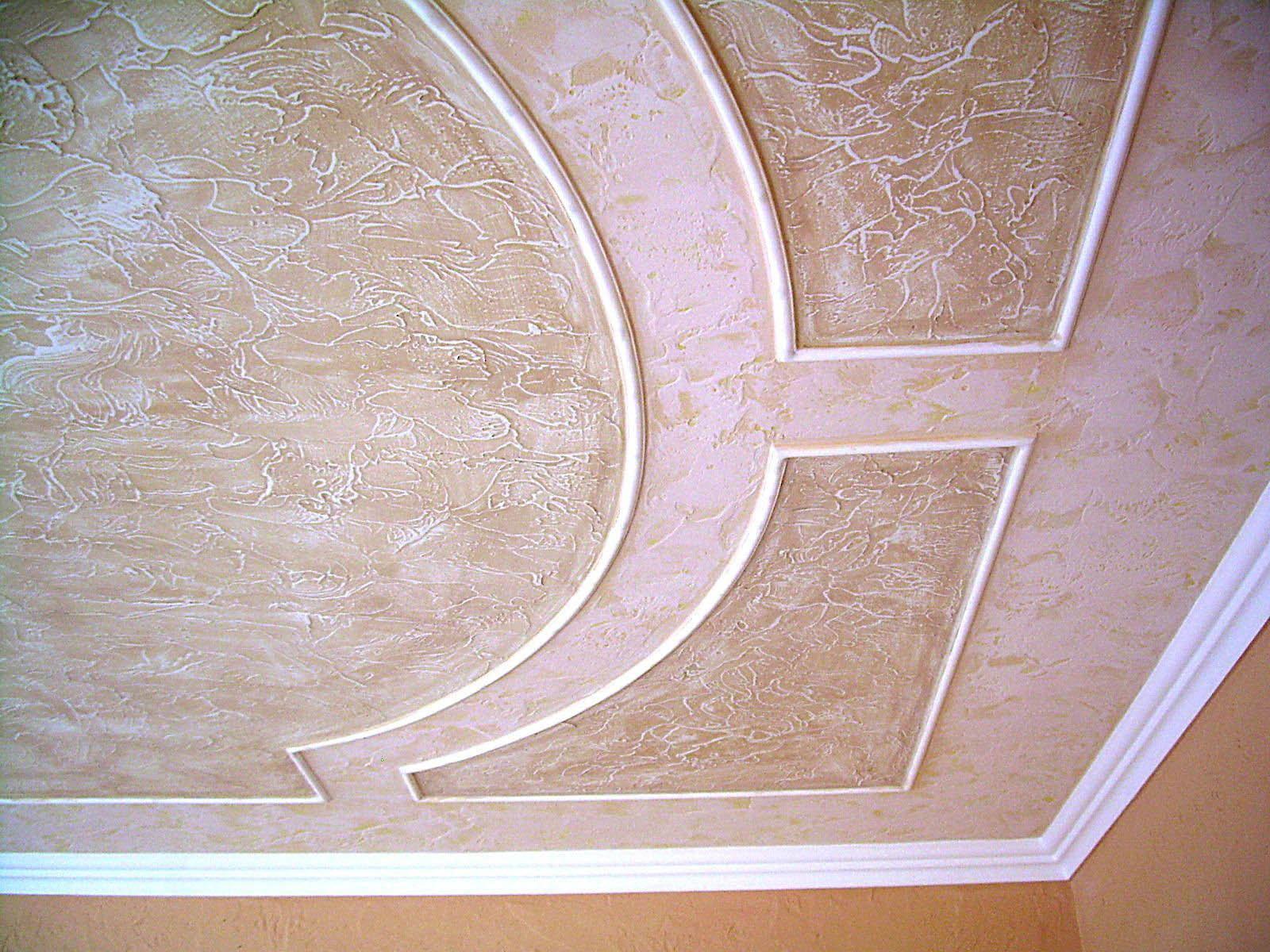 фото декоративных обоев на потолок начали изготавливать