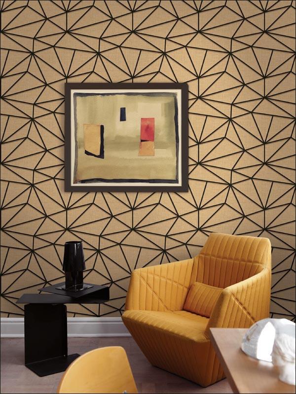 Коричневые обои для стен: 99 фото идей для гостиной, кухни, спальни и детской