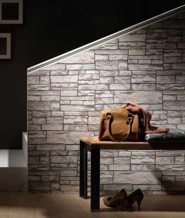 стены под рваный камень