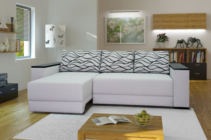 абстракция на диване
