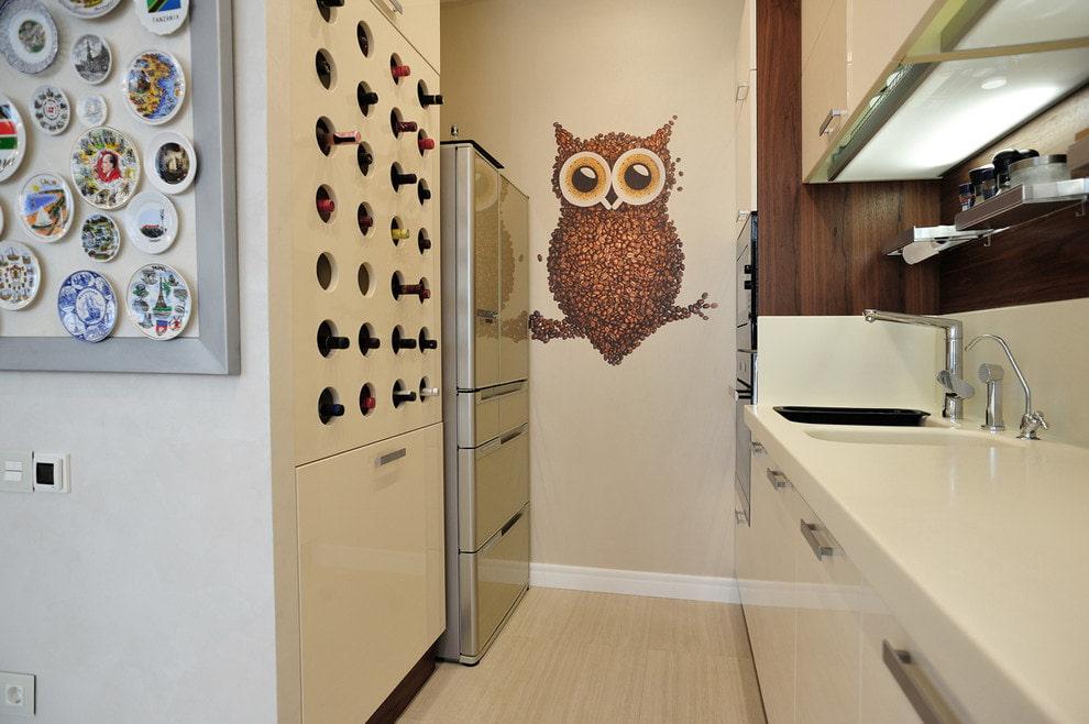 фотообои с изображением совы