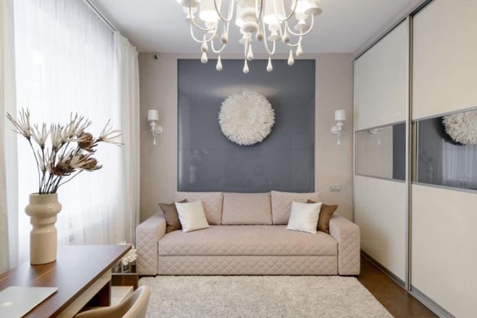 диван из ткани