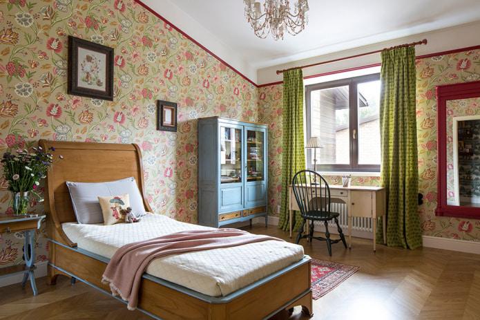 шторы в комнате девочки