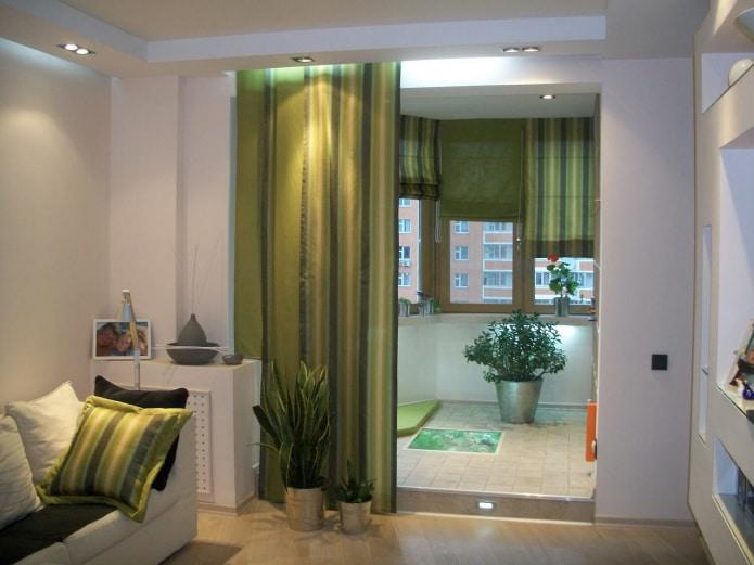 100 фото зеленых штор в интерьере: цвета, оттенки и рисунки в различных стилях. Способы дизайна и комбинирования в комнатах