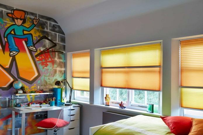 100 фото жалюзи в интерьере - виды, красивые идеи дизайна окна