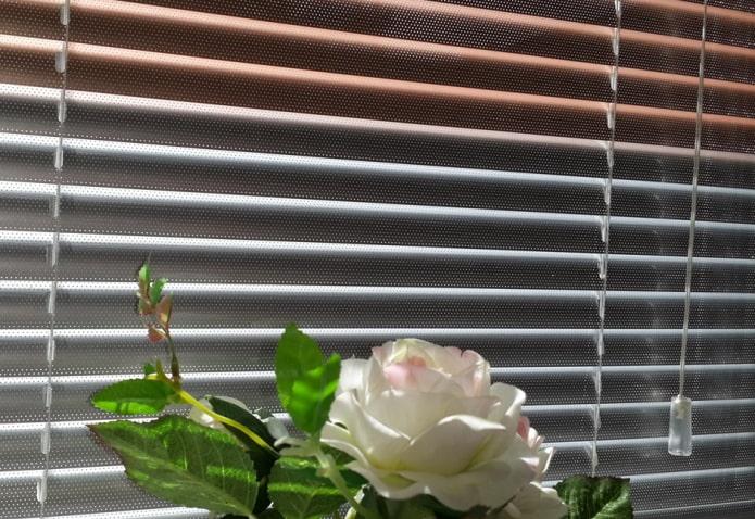 Горизонтальные жалюзи (66 фото) устройство, виды, идеи в интерьере для пластиковых окон окна