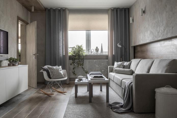 Шторы на люверсах 60 фото в интерьере зала, кухни и спальни. Пошаговая инструкция для пошива своими руками