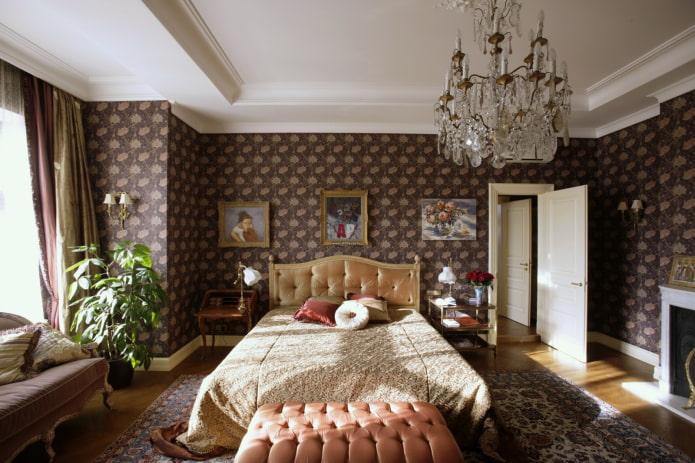 Обои в английском стиле: 60 фото в интерьере, избранные идеи оформления стен