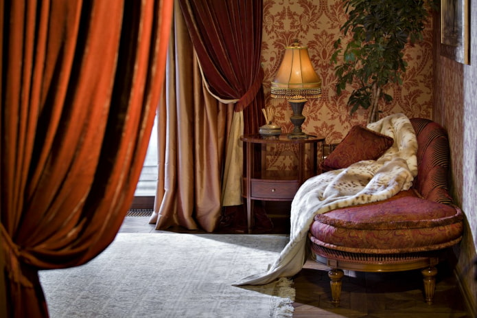 Бархатные шторы в интерьере: 60 фото, избранные идеи дизайна