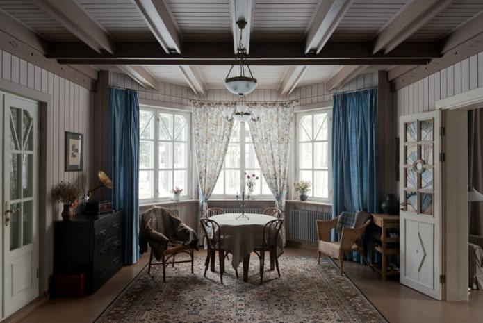 Шторы на эркер: 55 фото в интерьере, современные идеи оформления окна