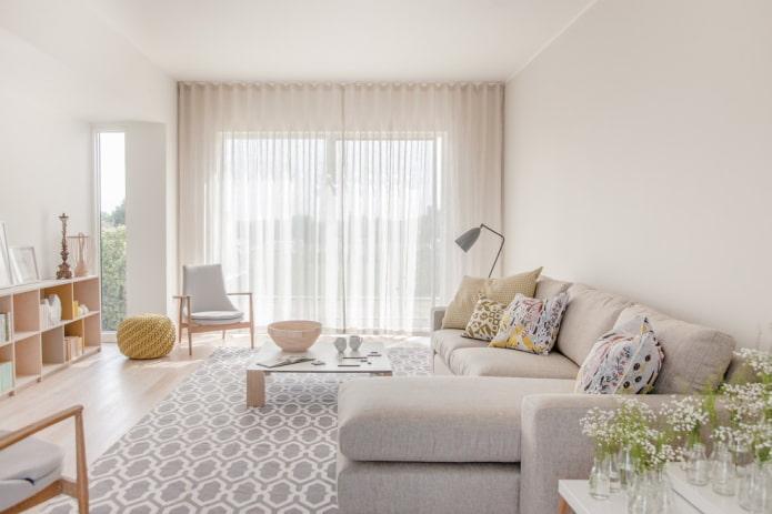 Дизайн штор: 90 фото в интерьере гостиной, кухни, спальни, детской, ванной, кабинета