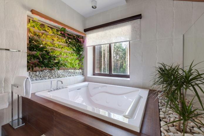 рольшторы в ванной комнате