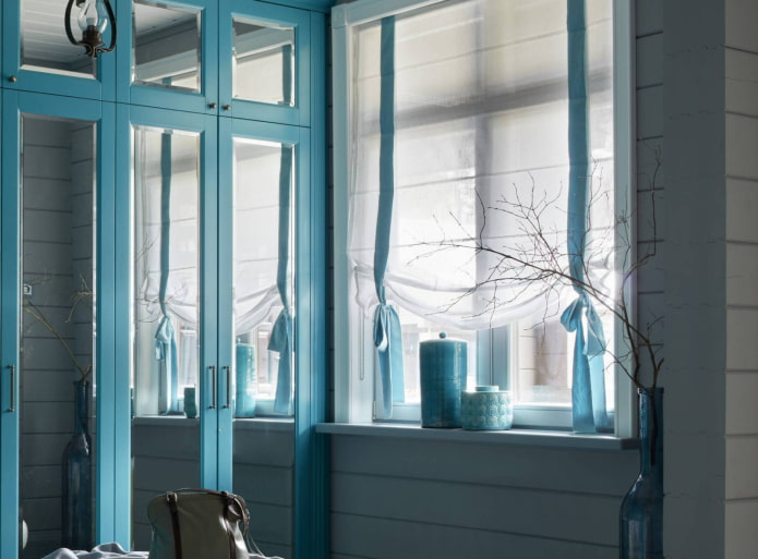Римские шторы: 120 фото в интерьере, современные идеи оформления окна
