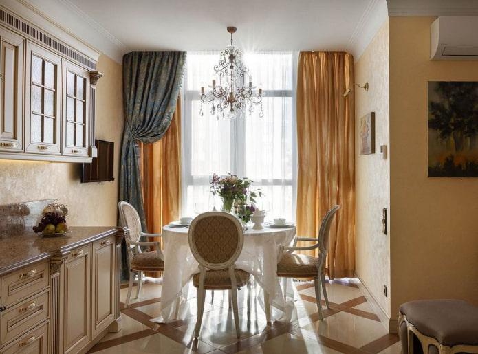 Итальянские шторы - фото для кухни, гостиной и спальни