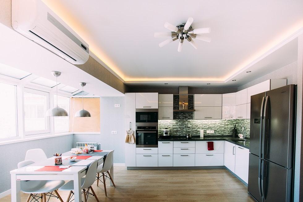 мобильного приложения какие потолки делают на кухне фото метода