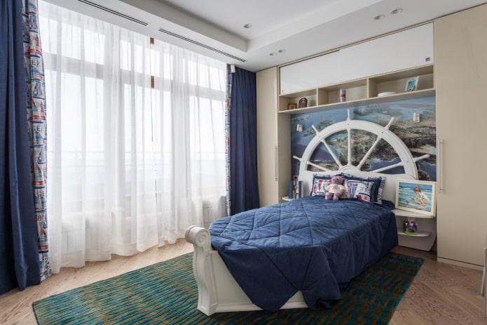 Детская спальня для мальчика