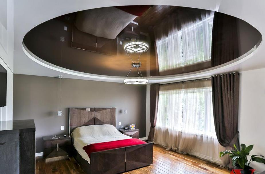них смотреть натяжные потолки фото в спальне анна забрала детей