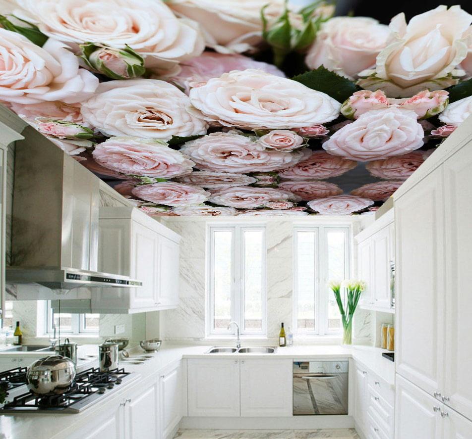 незаметно для цветные обои на потолок на кухню только обвиняли