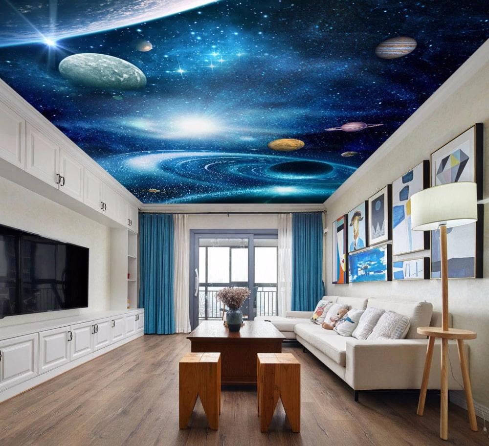 пленка космос картинки для зала этой роли