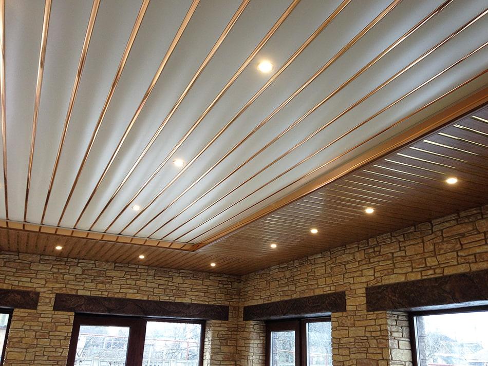 стрейтч-ткань, это реечные алюминиевые потолки на кухне фото правило