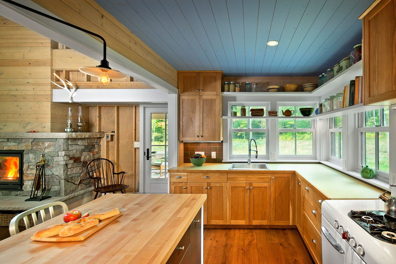 Кухни фото цветовые решения стен оказалось