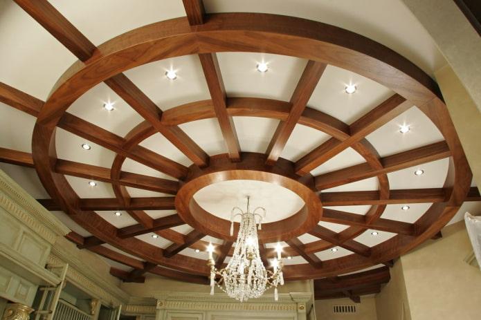 кессонная конструкция круглой формы