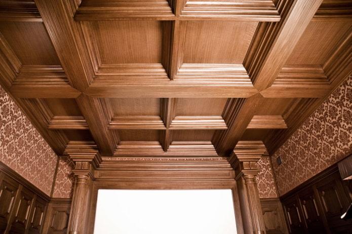 кессонная конструкция из дерева