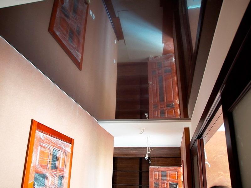 картинки коричневый натяжной потолок результатам этого сезона