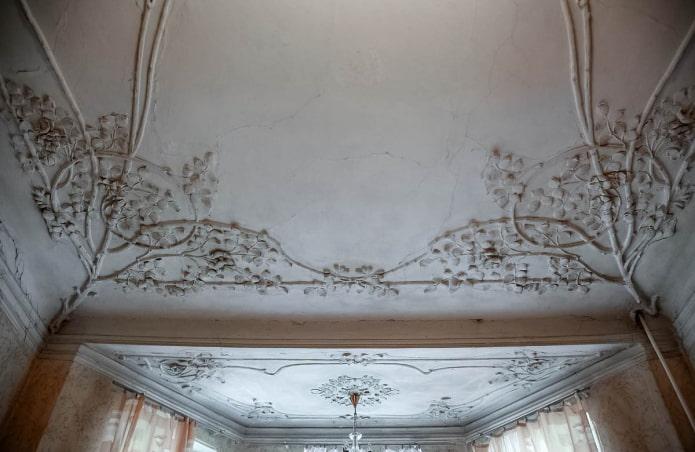 Потолок серого цвета: 80 фото, идеи оформления натяжного или гипсокартонного