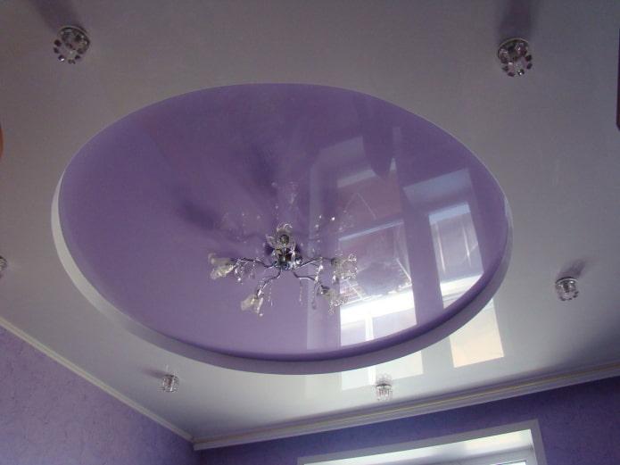 потолок круглой формы