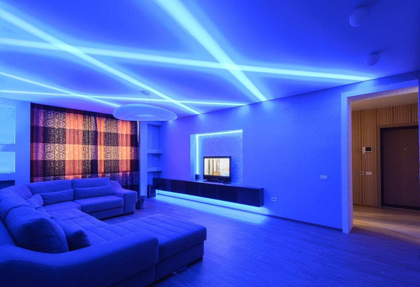 Как сделать правильную подсветку потолка в квартире