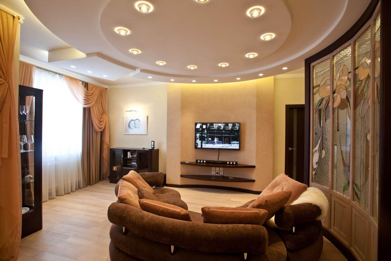 Потолки из гипсокартона фотогалерея для зала