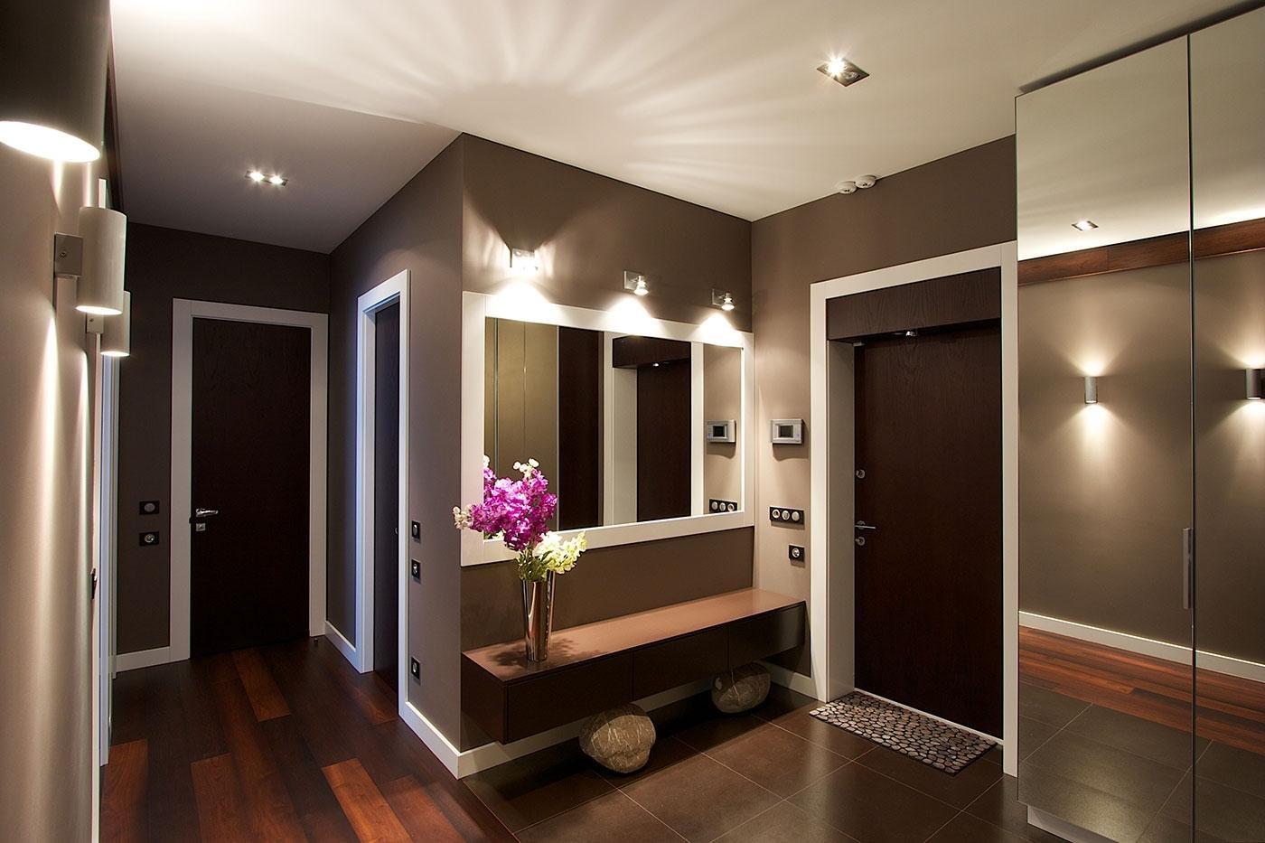 случайно столкнулся красивые коридоры в квартирах фото далеко