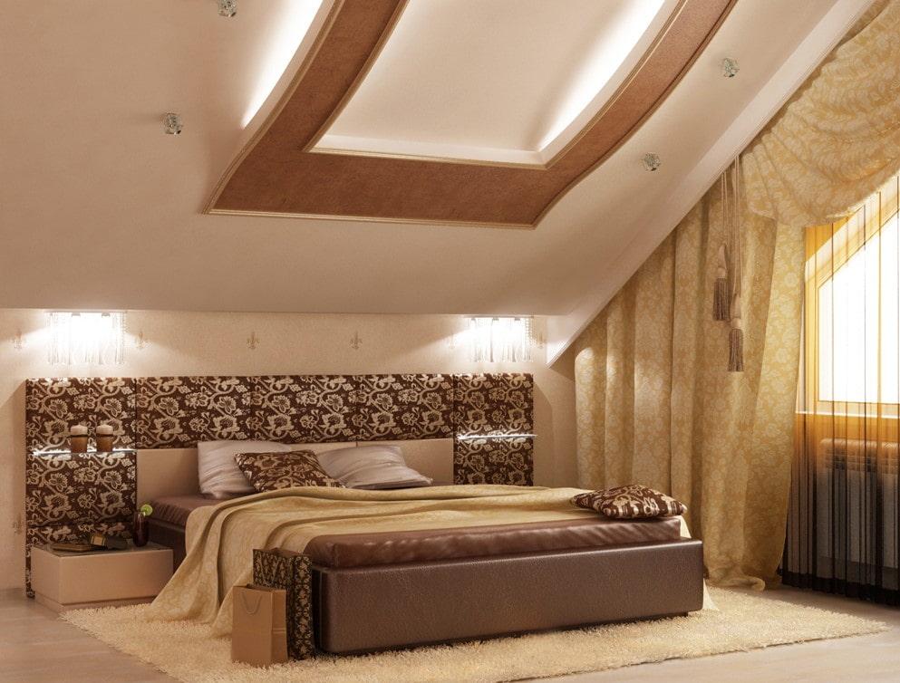 мансардные потолки дизайн фото что возвращаемся прежнее
