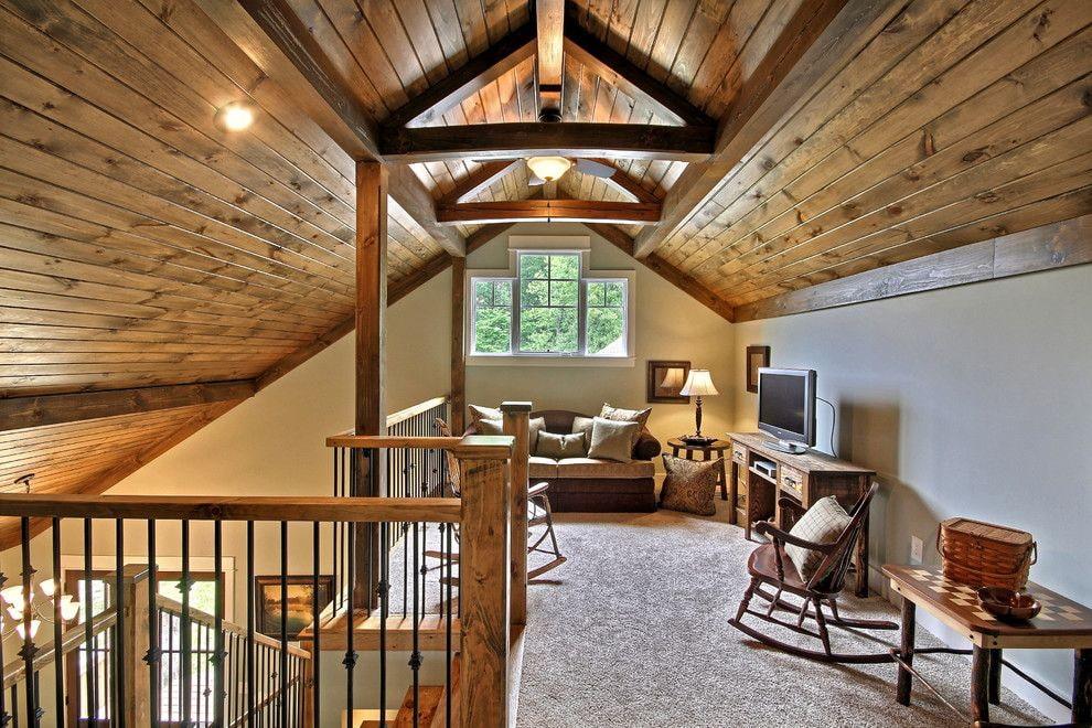 Отделка деревянного дома внутри фото второй этаж вместе семьей