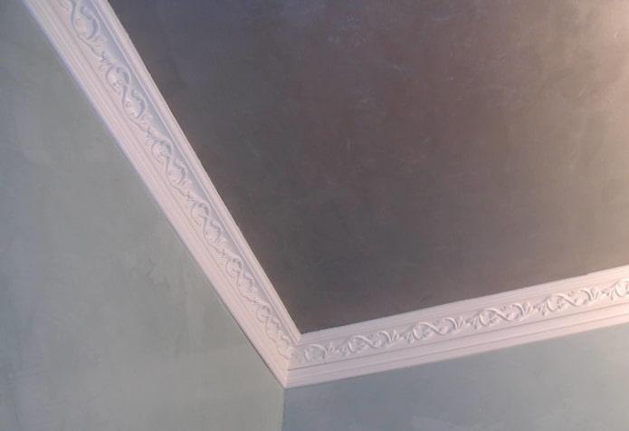 потолочная галтель из пенопласта