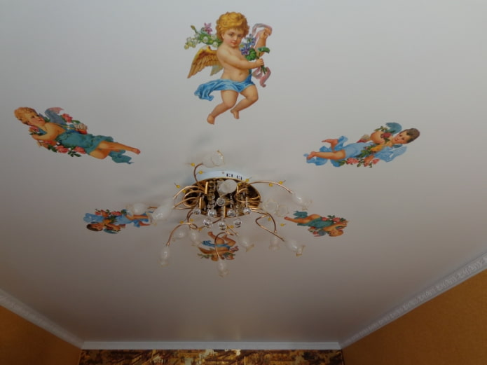 ангелы на потолке