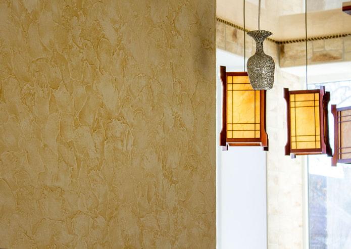 Венецианская штукатурка: 80 фото и идеи в интерьере квартиры