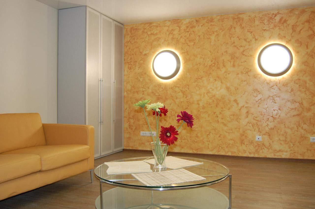 фото стен в зале декоративной штукатуркой свадебных