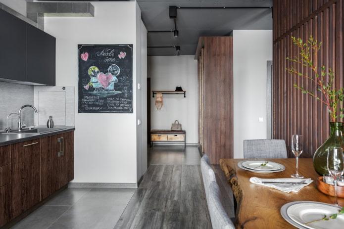 декор кухонных стен в современном стиле