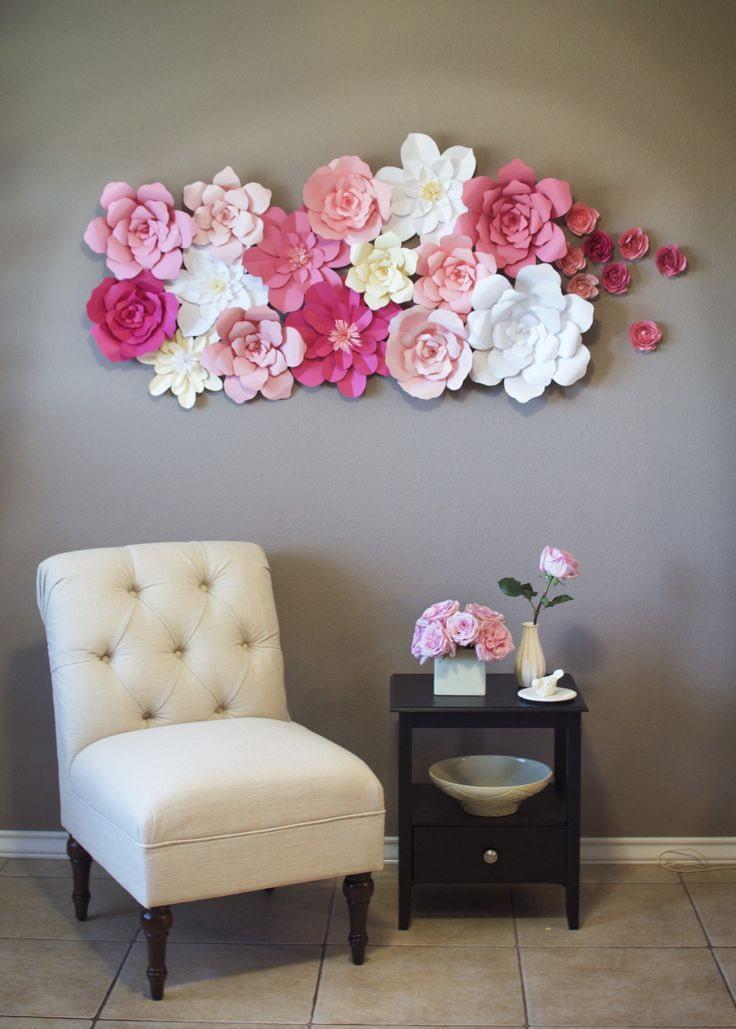 наша картинки оформление стены цветами что закончилась